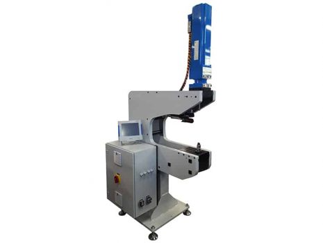 Servomechanic Floor press for inserting screws and nuts